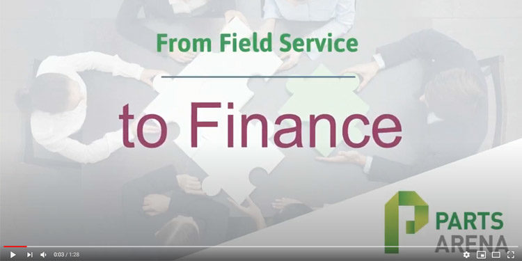 Field service to finance video
