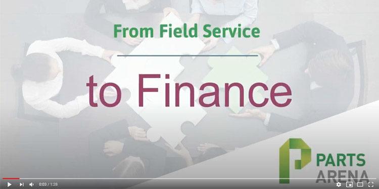 Field service to finance video